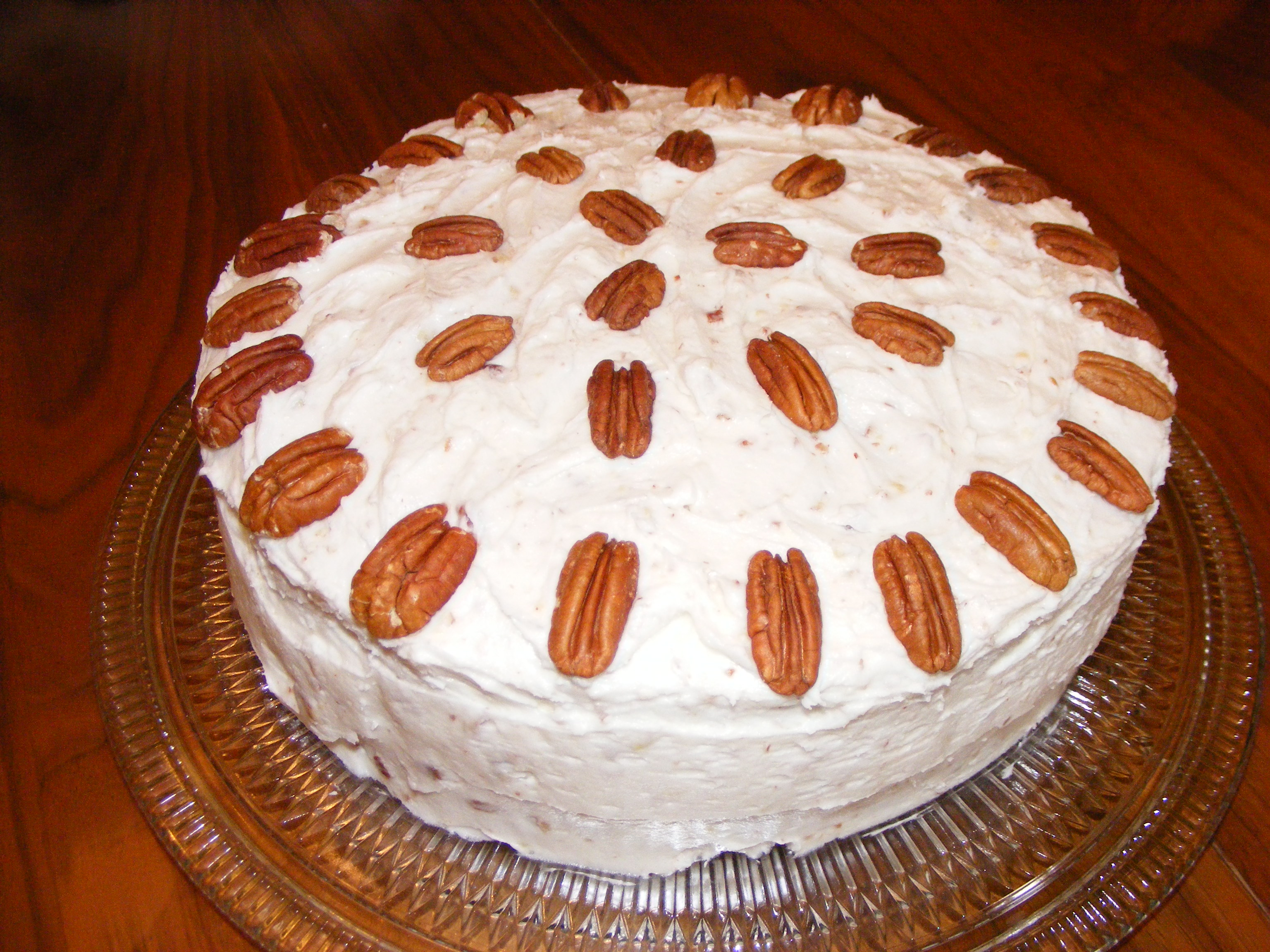 Butterscotch Cake with Butter Pecan Frosting | Effie's Goodies